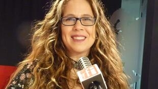 La artista argentina Julia Karp en RFI