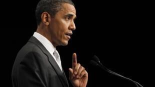 O presidente dos Estados Unidos, Barack Obama.