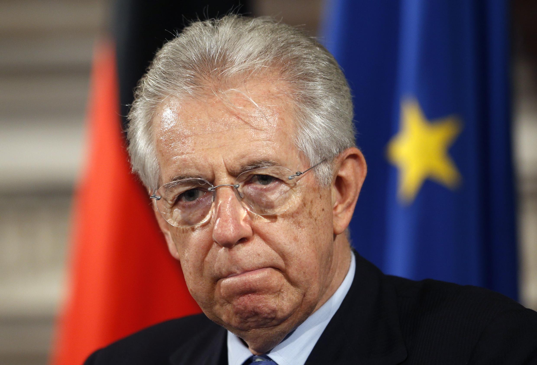 Pour le Premier ministre Mario Monti, il s'agit de regagner la confiance des marchés.