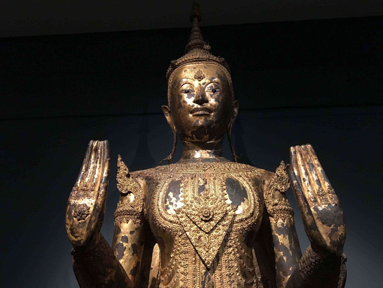 Museu Guimet traz representações de Buda através dos séculos.