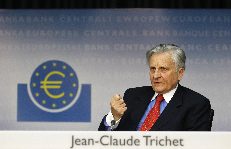 Ông Jean-Claude Trichet, chủ tịch Ngân hàng trung ương Châu Âu