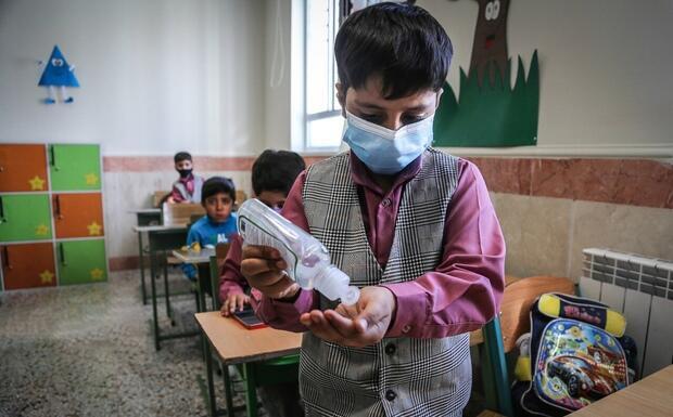 نگرانی ها از بازگشایی مدارس در ایران