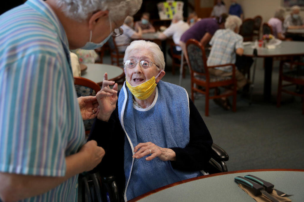 Residents in French nursing homes have been hard hit by Covid