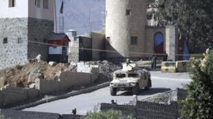 De violents affrontements ont éclaté ce lundi 19 janvier au matin autour du palais présidentiel à Sanaa.