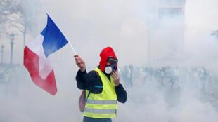 Los 'chalecos amarillos', un movimiento social sin precedentes.
