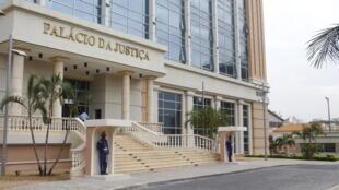 Palácio da Justiça em Luanda. Imagem de arquivo.
