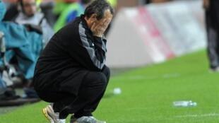 L'entraineur du GF38, Mehmed Bazdarevic.