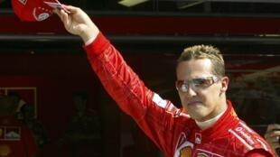 F1赛车传奇人物舒马赫