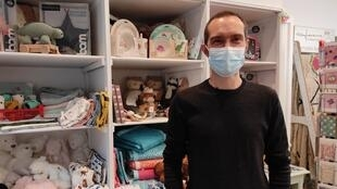 Vincent Bieules, proprietário da loja para crianças Tippy.