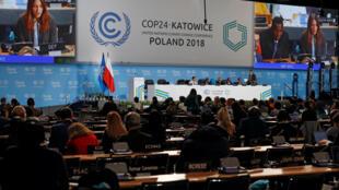 A COP24 decorre até 14 de Dezembro em Katowice, Polónia.