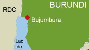 Carte du Burundi.