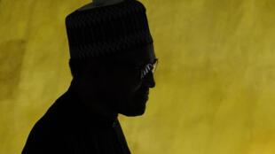 Muhammadu Buhari, Rais wa Nigeria mwishoni mwa mwezi Septemba katika Mkutano Mkuu wa 74 wa Umoja wa Mataifa, New York.