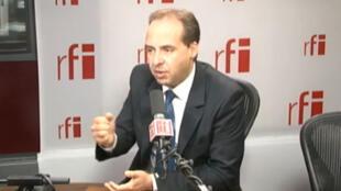 Jean-Christophe Lagarde, député UDI de Seine-Saint-Denis, président du groupe d'amitié France-Qatar de l'Assemblée nationale.