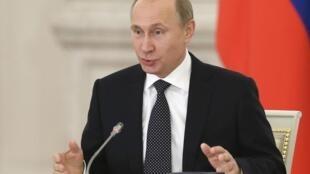 El presidente ruso traza una clara línea anti OTAN.