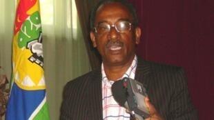 Rafael Branco, ex Primeiro-ministro de São Tomé e Príncipe, lider do PEPS