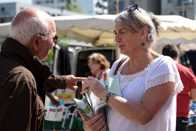 Элен Харди, кандидат от партии «Европа-Экология-Зеленые» (EELV)