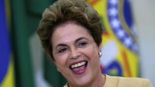 Tổng thống Brazil Dilma Rousseff. Ảnh chụp ngày 29/04/2016.