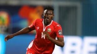 Michael Olunga alikuwa nyota wa Kenya, baada kuifungia timu yake mabao mawili, baada ya Johanna Ommolo kuisawazishia nchi yake bao la pili.