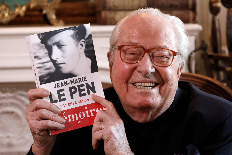 Второй том воспоминаний Жан-Мари Ле Пена должен выйти в начале 2019 года.