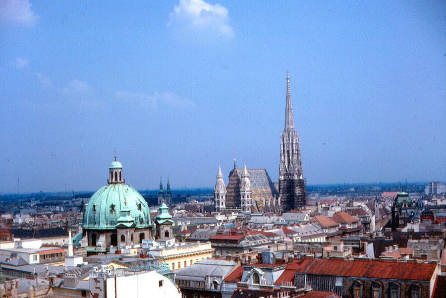 Vienne, capitale de l'Autriche (illustration).