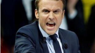 Эмманюэль Макрон на третьем месте после Фийона и Ле Пен в предвыборных опросах