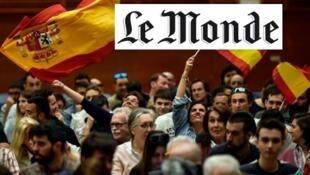 Reprodução de matéria publicada na edição desta segunda-feira (22) do jornal Le Monde.