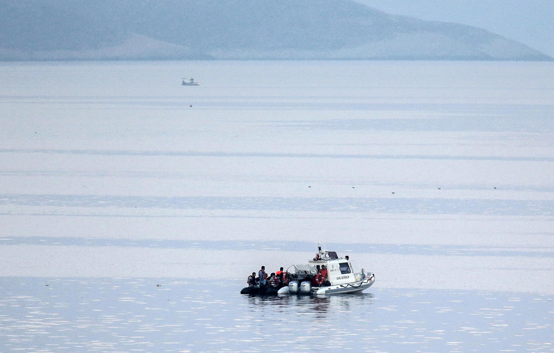 En 2015, 800 migrants sont morts noyés en mer Egée, selon l'OIM.