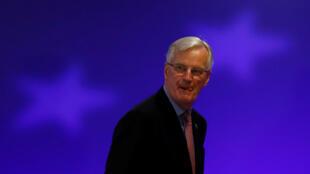 El negociador de la UE para el Brexit, Michel Barnier, durante el segundo día de la Cumbre de líderes de la UE en Bruselas, Bélgica, el 15 de diciembre de 2017.