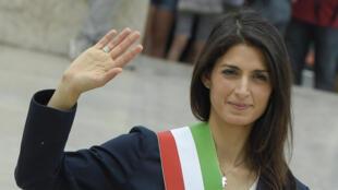 Virginia Raggi, maire de Rome.