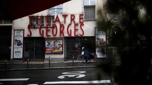 Théâtre Saint-Georges in Paris, among the many venues closed because of the pandemic.