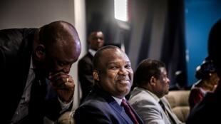 Le président de la commission électorale Corneille Nangaa à Kinshasa le 20 décembre 2018.