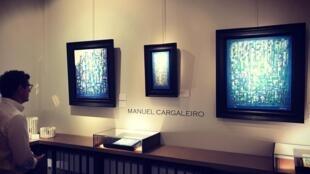 Quadros de Manuel Cargaleiro na Hélène Bailly Gallery
