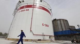 La raffinerie de Sinopec à Wuhan, dans la province du Hubei (image d'illustration).