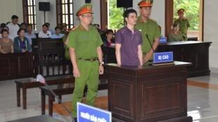 Ông Nguyễn Ngọc Ánh bị Tòa án Nhân dân tỉnh Bến Tre kết án 6 năm tù và 5 năm quản chế, ngày 06/06/2019.