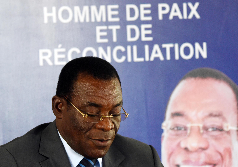 Pascal Affi N'Guessan, le président officiel du Front populaire ivoirien, cherche à retrouver l'unité perdue au sein de son parti.
