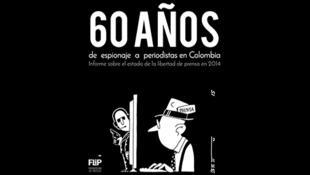 Portada del informe de la FLIP, Colombia.