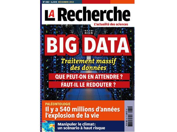 La Recherche, décembre 2013.