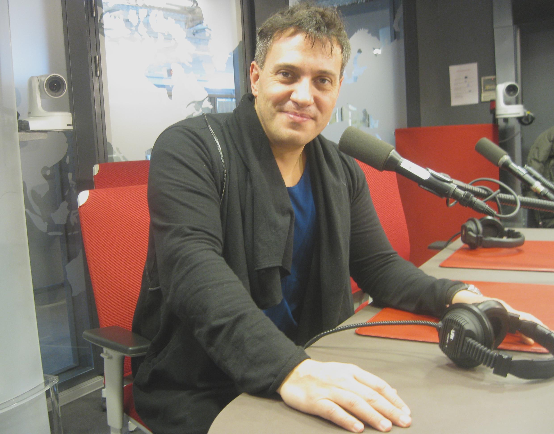 Erwin Schrott en los estudios de RFI