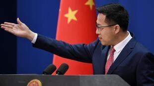 Chinese Foreign Ministry spokesman Zhao Lijian denied China made negative remarks on how France has handled the coronavirus epidemic