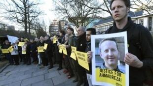 تظاهرات دانشگاهیان و دانشجویان در بروکسل برای اعتراض به دستگیری و محکومیت احمدرضا جلالی و مطالبۀ آزادی فوری و بی قید وشرط او.