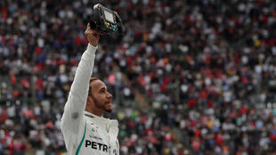 Lewis Hamilton drew level with Juan Manuel Fangio in the all time winners list following his performance at the Mexican Grand Prix..