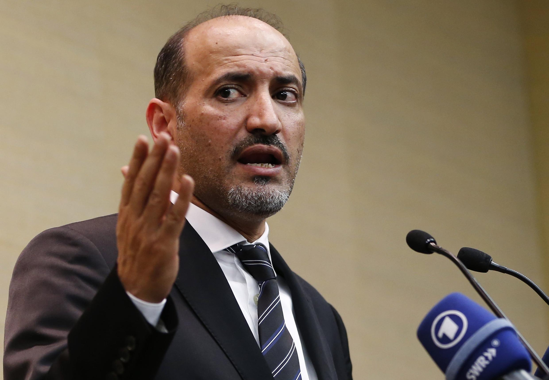 Rais wa baraza la upinzani wa Syria, Ahmad Jarba