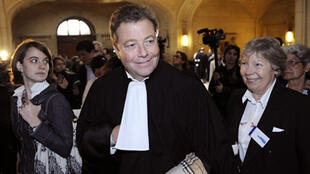 Lawyer Olivier Morice acting against the Scientologists at the start of the legal action in 2009