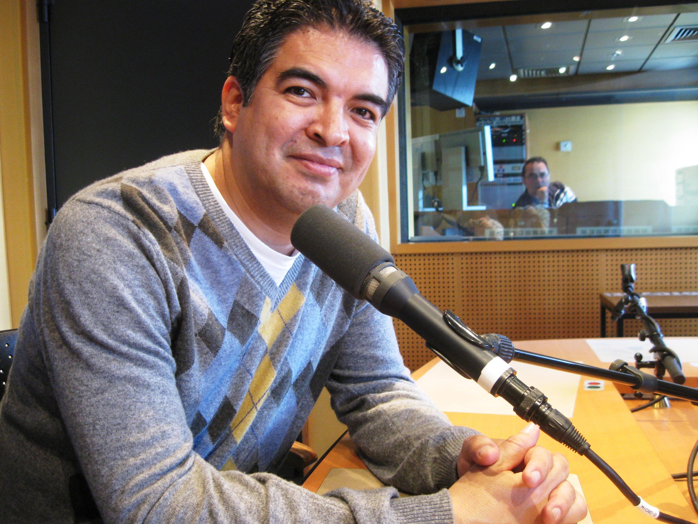 Juan Carlos Laguna en RFI.