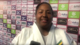 A judoca brasileira Beatriz Souza garantiu neste domingo, 9 de fevereiro de 2020, a segunda medalha para o Brasil no Grand Slam de Paris.