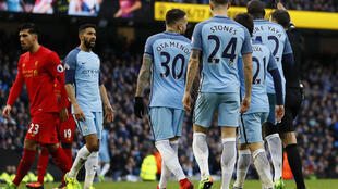 FA fines Manchester City for failure to control players vs. Liverpool