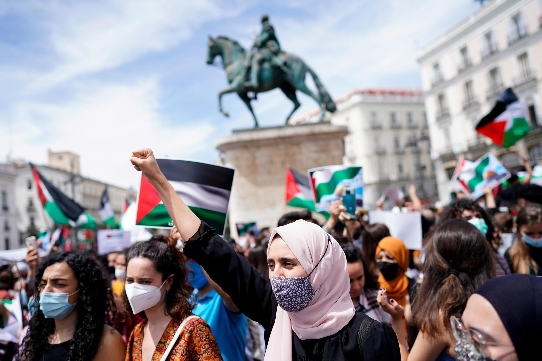 Protesto pró palestina