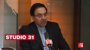 Abolghassem Delfi sur RFI le 12 janvier 2018.