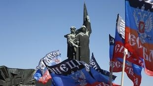 Памятник освободителям Донбасса в Донецке