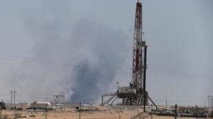Cơ sở dầu lửa tại Aramco, phía đông thành phố Abqaiq, Ả Rập Xê Út bị tấn công ngày 14/09/2019